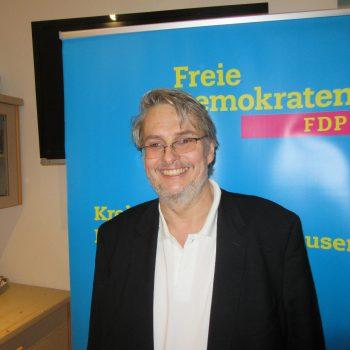 Kreisvorsitzender Fritz Haugg