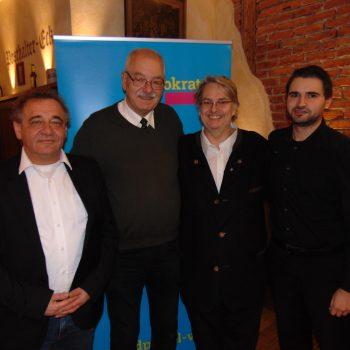 André Göllrich, Thomas Ranft, Fritz Haugg, Stephan Strzondala