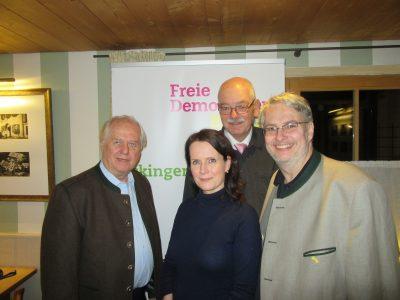 Cecile Prinzbach bei den Ickinger Gesprächen