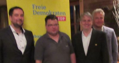 Dr. Patrick Lechner, Christian Bertl, Fritz Haugg, Torsten Mohr (v.l.n.r.)