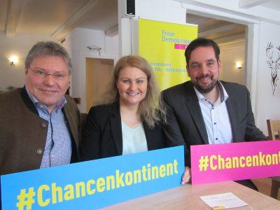 Horst Draudt, Nadja Hirsch, Dr. Patrick Lechner (v.l.n.r.)