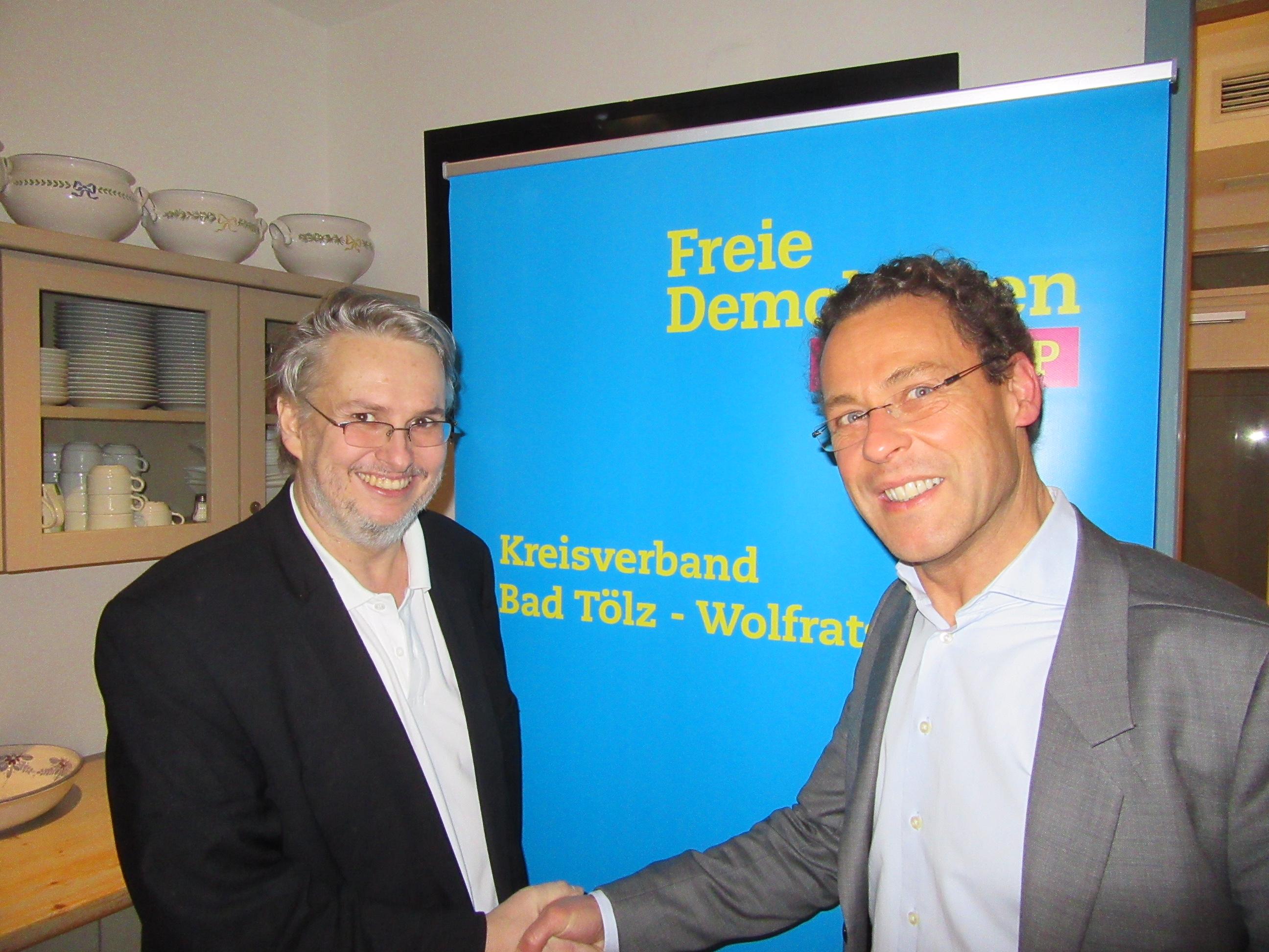 Fritz Haugg und Andreas Baumgarten (v.l.n.r)