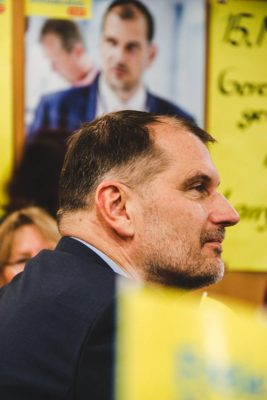 Larry Terwey, FDP-Bürgermeister-Kandidat für Geretsried
