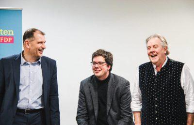 Larry Terwey, Dr. Lukas Köhler, Albert Duin