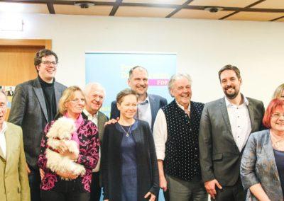 Gruppenfoto, v.l.n.r.: Dr. Prigge, Dr. Köhler, Fr. Golling, Hr. Fuhrmann, Fr. Terwey, Hr. Terwey, Hr. Duin, Dr. Lechner, Fr. Reuter, Fr. Lechner